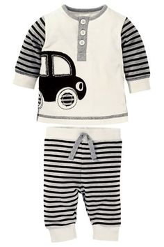 Buy Car Top And Leggings Two Piece Set (0-18mths) from the Next UK online shop