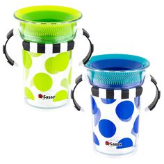7oz Tritan® Trainer Cup 2 Pack | Sassy Developmental Toys