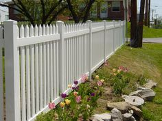 white vinyl fencing ideas? | Choose a Vinyl Fence for Its Durability, Thickness, Stability, and ...