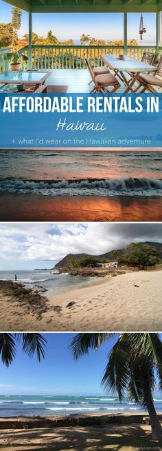 Affordable rentals in Hawaii + What I'd wear on the tropical vacation // thinkelysian.com