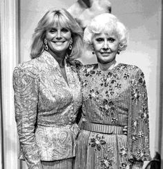 Linda Evans and Babara Stanwyck