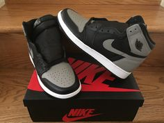 e729893465fa95 Details about Nike Air Jordan 1 Retro High OG SHADOW 575441-013 GS PS TD Sz  4C-7Y NEW DS 2018