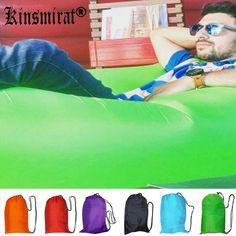 كيس النوم كيس laybag outdoor يتدفقون نفخ الهواء أريكة نفخ كسول النوم صالة الشاطئ الموز كيس الهواء السرير المتسكع