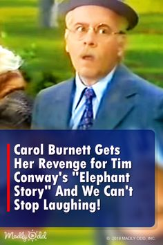 Carol Burnett Gets Her Revenge for Tim Conway s Elephant Story And We Can t Stop Laughing! I laughed so hard! Carol Burnett and Tim Conway are in classic form, but can Tim stay in character this time around Can't Stop Laughing, Laughing So Hard, Funny Vidio, Harvey Korman, Funny Sketches, Comedy Tv, Comedy Skits, Blonde Jokes, Carol Burnett