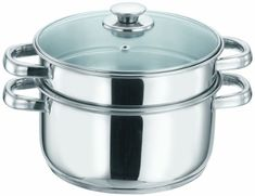 Vinod Cookware 2 Tier Steamer Silver 20Cm >>> You can find more details by visiting the image link.-It is an affiliate link to Amazon.