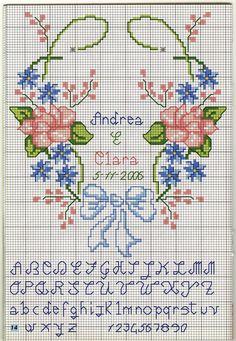 portafedi heart flowers (2) - magiedifilo.it cross stitch crochet patterns free creative hobbies