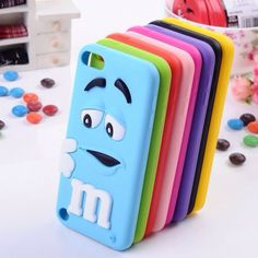 Cool colourful m and ms phone case ❤️ cute adorable