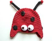 ladybird wool hat marcella coccinella