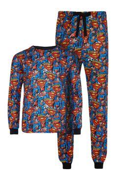 Superman Fleece Set