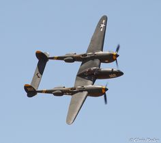 Lockheed P-38 Lightning 23 Skidoo, :) ... my fave and I will love to have the opportunity to fly it! ~ ♥