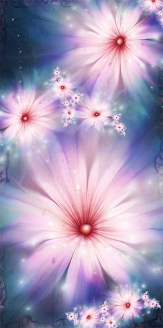 Flowery images 100% generated with UltraFractal software (no postwork, no external image import). By Chiara Biancheri