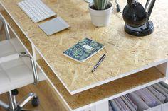 OSB DIY / How to Build a Desk | Hello Nancy