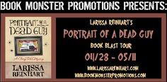 ~~~ WON GIVEAWAY ~~~  Froggarita's Bookcase ~ Larissa Reinhardt's PORTRAIT OF A DEAD GUY Blog Tour  ---  Won a Copy of PORTRAIT OF A DEAD GUY (A CHERRY TUCKER MYSTERY, #1) by Larissa Reinhart