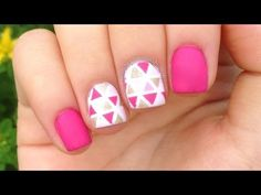 A Simple Nail Art Tutorial, Before looking into the detailed description about the steps involved in nail art, we shall take a look at what is nail art. From the very first sight. Nail Art Designs Videos, Nail Art Videos, Diy Nail Designs, Simple Nail Designs, Summer Toenail Designs, Nail Designs For Kids, Plaid Nail Designs, Anchor Nail Designs, Animal Nail Designs