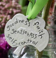 Fruits of the Spirit... Pewter Ornament – ChristianGiftsPlace.com Online Store