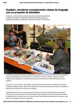 Prensa EDUTV Canal Escolar. Invierno 2012.
