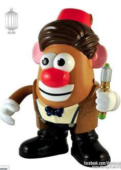 Mister Potato Doctor Who