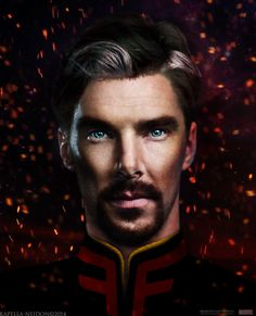 """""""Benedict Cumberbatch to Play Doctor Strange It's real! Benedict Cumberbatch is set to join the elite ranks of of Marvel men in Doctor Strange. (Image Source) We love Benedict. Marvel Doctor Strange, Dr Strange, Doctor Strange Benedict Cumberbatch, Emily Rose, Martin Freeman, Doctor Stranger Movie, Playing Doctor, Portraits, Age Of Ultron"""