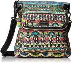 #crossbody Available in 5 different designs, each one cooler than the one before, this cross body bag is one the teens will be drooling over this year....
