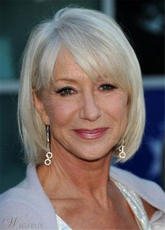 Medium Bob Synthetic Hair Hairstyles For Women Over 50: Wigsbuy.com