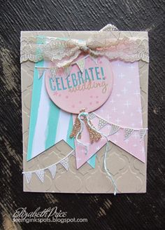 Celebrate Today Stamp Set with Balloon Framelits from Stampin' Up!