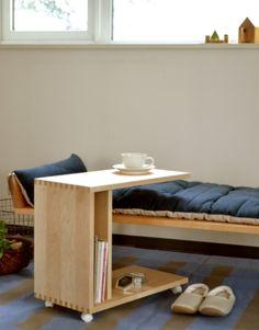 cosine/ワゴンテーブル メープル材 - テーブル - 通販カタログ - スタイルストア -