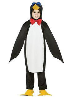 Kid's Lightweight Penguin Costume - http://halloweensupplycenter.com/kids-lightweight-penguin-costume/