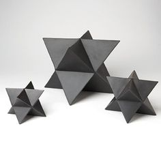Add these structural elements to your table top. Sold as a set of 3. Matte BlackDIMENSIONS: Small Object: 5