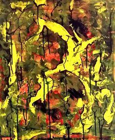 This, schilderij van Christian van Hedel | Abstract | Modern | Kunst