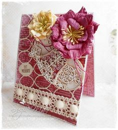 ONLY Vintage/ShabbyChic/Romantic Cards&Alter