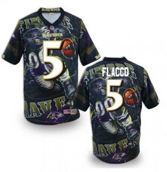 Baltimore Ravens Mens Stitched NFL Elite Fanatical Version Jersey(Same Price For Customized)  Big Jersey