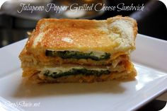 Jalapeno Popper Grilled Cheese.