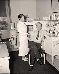 photo of Medical Room, Senate Office Bldg. It was created in 1937 by Harris & Ewing.