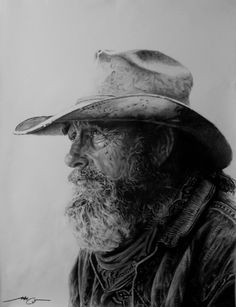 Old Cowboy by ~HCui on deviantART