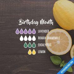 Birthday Month Diffuser Blend