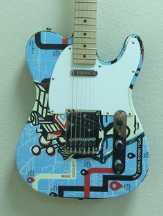 Custom promotional guitar by Brand O' Guitar Company