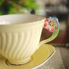 Crown Devon Tennis set Tennis Set, Vintage Tableware, Vintage Tea, Teacups, Cup And Saucer, Tea Pots, Delicate, Butterfly, Chocolate Cups