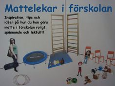 Mattelekar i förskolan: Matte-memory Preschool Learning, Preschool Crafts, Math Activities, Teaching Tips, Experimental, Pre School, Special Education, Kids And Parenting, School Supplies