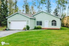 😍👉🏻Be Impressed with this ranch style home 🏡 located in N Jack Nicklaus Dr., Wasilla. A lovely landscaped yard and is located on an established neighborhood a dream house that is move in ready, so what are you waiting for.  To schedule a showing call 📞 us at 888-378-3575 or email ✉️ us at Worldwide@TheKristanColeNetwork.com. This listing is courtesy of Kristan Cole, Keller Williams Realty Alaska office