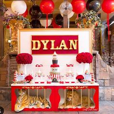 Step right up and look at this fab circus party by @prettyposhparties. Now we…