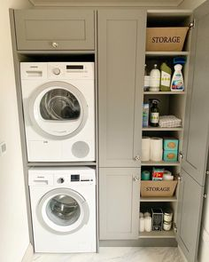 Trockner Laundry Room Ideas Washer Dryer Stacked - Laundry Room Ideas - How To Choose A Shelving Sys Pantry Laundry Room, Laundry Room Layouts, Laundry Room Remodel, Laundry Room Organization, Laundry Room Design, Laundry In Bathroom, Basement Laundry, Small Laundry Closet, Diy Organization