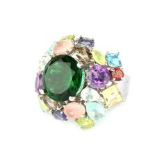 Metallier jewellery  Treat!! the eyes with a splash of colours, a splendid party ring with multigemstones from collection wearable beauty visit us at www.metallierjewellery.com #Silver #jewellery #jewelry #ring #london #germany #fashion #finejewelry #UK #USA #Australia #Italy #Paris #china #southamerica #Australia #India #accessories