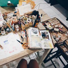 Las herramientas deben estar cerca y el espacio debe ser apropiado para poder realizar el journaling.