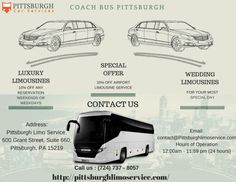 Coach Bus Pittsburgh provide transportation services of excellent quality for its festivals and events anywhere in the United States. We have an experienced team well experienced and provide world-class accommodations, delicious cuisine and excellent transportation facilities. We are proud to offer their services in major cities like Pittsburgh. We ensure travel experience safe and comfortable. Booking us immediately and calling us at: (724)737-8057. Visit us…