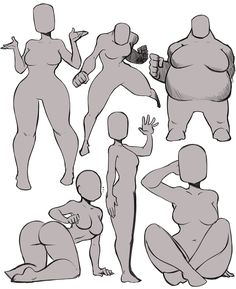 Some body types :3