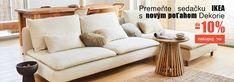 Oblečte Vašu 💥IKEA💥 sedačku do nového poťahu od Dekorie Ikea, Couch, Furniture, Home Decor, Settee, Decoration Home, Ikea Co, Sofa, Room Decor