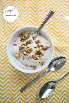 Gwyneth Paltrow's Banana Ice Cream | http://hellonatural.co/recipe-banana-ice-cream-ice-cream-ideas/