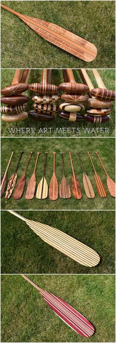 Custom Canoe Paddles by Winnebago Paddles