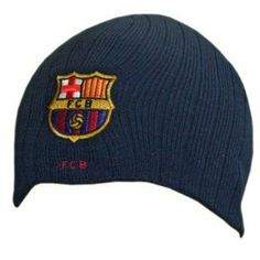 F.C. Barcelona Knitted Hat - Navy by Barcelona F.C.. $16.43. 100% Acrylic. Official Licensed Product. F.C. Barcelona. One Size. Knitted Hat. F.C. Barcelona One Size Knitted Hat 100% Acrylic Official Licensed Product