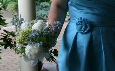 bridesmaid bouquet: June 2013